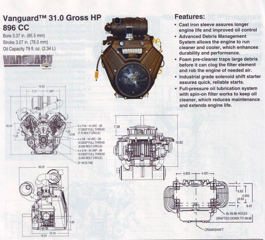Briggsbits Briggs And Stratton Vanguard 31hp Engine