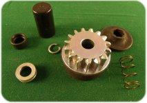 Genuine Briggs /& Stratton 496881 15 tooth Starter Drive Kit