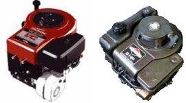 Single cylinder vertical crankshaft  over 6 hp